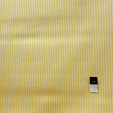 Dena Designs F006 Sunshine Stripe Yellow Linen BlendFabric By Yard