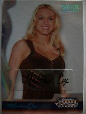 2008 DONRUSS AMERICANA HEATHER COX  AUTOGRAPHED CARD !!! BOX 7
