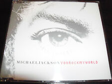 Michael Jackson Rock My World Australian 5 Track CD Single