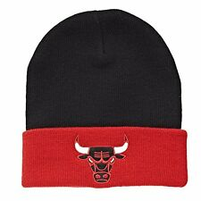 Mitchell & Ness Adult Unisex Chicago Bulls Cuff Knit Hat SN005 Beanie