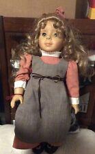 Gotz Elizabeth Cady Stanton Doll German blonde 18'' used condition 2192/5000