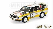 Audi Sport Quattro Rally -Rohrl/Geistdorfer -2nd Monte-Carlo 1985 #3 -Minichamps