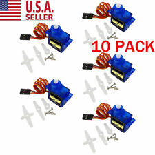 10PC For RC Robot Helicopter Airplane Aircraf Car Boat 9G SG90 Micro Servo Motor