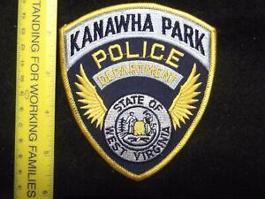 West Virginia Kanawha County Park Ranger Police vintage issue Chareleston