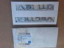 ORIGINAL OPEL Emblem Schriftzug NEU Vectra B DTI 16V 2,0 2,5 09135071