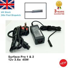 For Microsoft Surface Pro 1 & 2 RT 1601 1631 1536 Windows 8/10 Adapter Charger