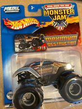Rare 2002 #19 Maximum Destruction Hot Wheels  Monster Jam 1:64