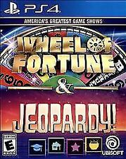 Wheel of Fortune & Jeopardy America's Greatest Game Shows PS4