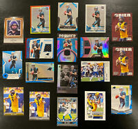 Will Grier 2019 Rookie Lot 22 Cards~Inserts Panini Jersey/Patches SP Panthers RC