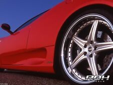 "New Set of 4 Scarallo ROH Modena 18"" Wheel Rims For Nissan 350Z Infiniti G35 G37"