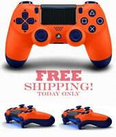 2021 Sony PS4 New Wireless Controller DUALSHOCK 4 - Sunset Orange ~ Games Gifts