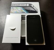 APPLE iPhone 4S Black 32GB MC919LL/A AT&T  w/ Original Box Manual Bonuses A+++