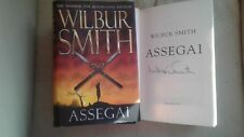 Assegai signed by Wilbur Smith (First/First Edition Hardback, 2009)