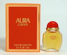 AURA LOEWE EAU DE TOILETTE 5 ML. 0.17 FL.OZ. EDICIÓN ORIGINAL 1994 MINI PERFUME