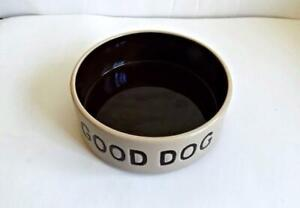 "Petrageous Designs ""Good Dog"" Stoneware Dog Food Water Bowl"