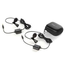 IK Multimedia iRig Mic Lav Chainable Mobile Lavalier Built-In Monitoring 2-Pack