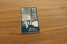 W P Fuller Paint Co Home Service Booklet Vtg Painting Illustrated