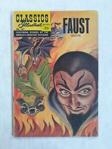 Classics Illustrated 167 Faust. Not 1st printing