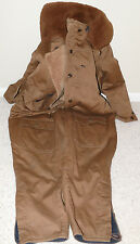 Soviet ORIGINAL WW2 Extremely Rare Cold Weather Flight Suit, Dated 1940