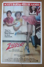 ZAPPED '82 Original OS Movie Poster SCOTT BAIO & WILLIE AAMES