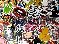 20 Aufkleber Doodle Retro Sticker Set Dekoration Auto Stickerbomb Laptop Handy
