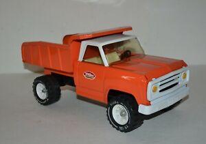 1960s Orange & White Tonka Dump Truck