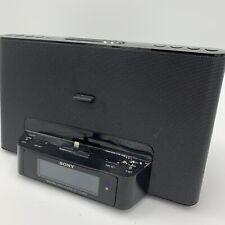 Sony ICF-CS15iPN iPhone/iPod Radio Speaker Dock Great Condition Tested No Remote