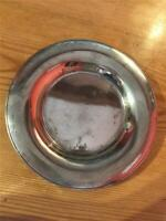 Vintage Small Round Silver Plated EPNS Salve Tray 16cm