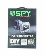 SPY Motorcycle TPMS tire pressure monitoring kit 2 external sensor 0-3.5BAR PSI
