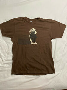 Poison The Well Bear Shirt Brown Large T-Shirt Tee You Come Before You Hardcore