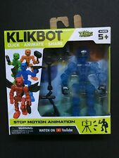 Stikbot Klikbot Blue Cosmo Animation Figure New