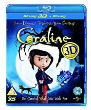 Coraline blu-ray New and Sealed 3D & 2D Versions