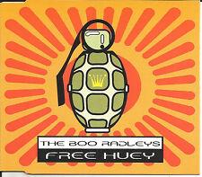 BOO RADLEYS Free Huey w/ 2 UNRELEASED  TRX Europe CD Single SEALED USA seller