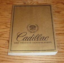 Original 1982 Cadillac Service Shop Manual 82 Eldorado Fleetwood DeVille Seville