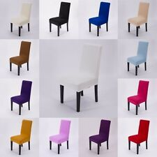 Stretch Spandex Chair Covers Slipcovers Kitchen Dinner Bar Wedding Party Decor