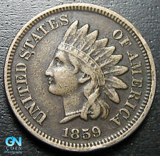 1859 Indian Head Cent Penny  --  MAKE US AN OFFER!  #P4974