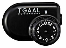 Kutsuwa STAD Angle Adjustable Pencil Sharpener T'GAAL Black RS017BK