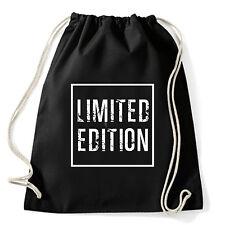 Art T-shirt, Zaino Limited Edition, Nero, Sacca Gym