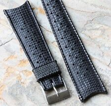 Tropic divers band type 22mm vintage dive watch strap 1960s curved end 7 sold