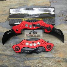 TAC-FORCE Double Karambit Blades Folding Rescue Tactical Knife TF-669RD