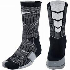 Nike ELITE Crew Matchfit Soccer Crew Socks Black/White SX5010-058 Sz S 3-5Y
