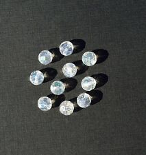 Angel Opal Aura 8mm Faceted Round Quartz Beads 1 lot 10 beads