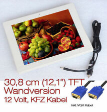 "30cm 12 "" Small TFT Wandmonitor Control Monitor Also for 12 V Car Boot and"