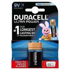 Duracell Ultra Power 9v Battery - Pack of 1 %7c PP3 MN1604 - Smoke Detector Alarm