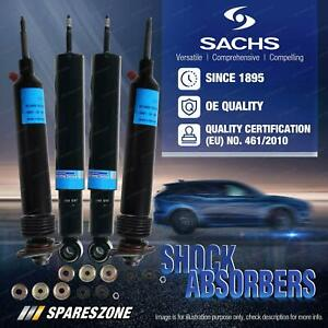 Front + Rear Sachs Shock Absorbers for Mercedes Benz S-Class W116 W126 C126