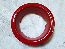 2008-2013 MINI COOPER S Fuel Filler Cap Trim Ring OEM 2751980 Red