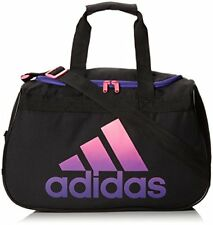 adidas Diablo Small Duffel  Gym Bag  Black Solar Pink