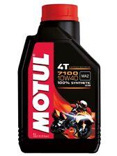 Motul 7100 4T 10W40 vollsynthetisch Motoröl 1L Öl Motorrad Roller Enduro Quad