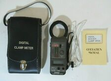 Extech Digital 400a Acdc Temp Clamp Meter With Case