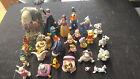 Lot of 25 Disney Ceramic Porcelain Figures Snow White Goofy Pooh +